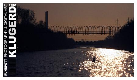 Dämmerung am Rhein-Herne-Kanal