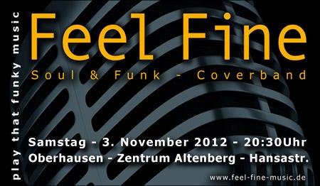 Feel Fine im Zentrum Altenberg