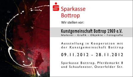 Ausstellung in der Sparkasse Bottrop