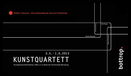 Dat & Wat | Einladung zum Kunstquartett 2013