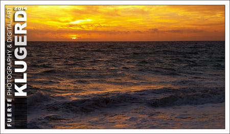 Fuerteventura - Fotos der Woche - Sonnenuntergang an der Playa de La Cebada