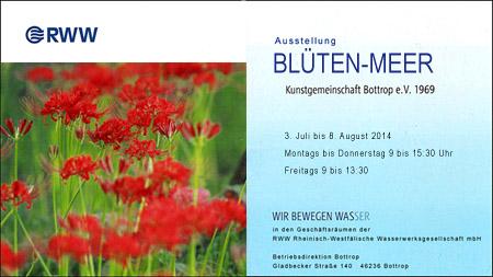 Ausstellung Blüten-Meer