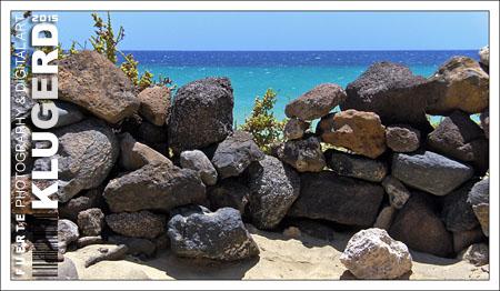 Fuerteventura - Fotos der Woche | Windschutz :: Playa de Sotavento