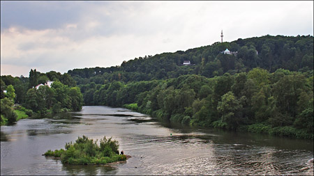 Der Angler und die Ruhr