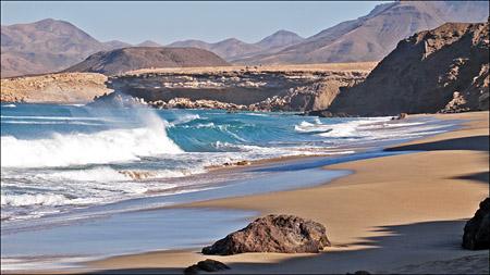 Fuerteventura - Fotos der Woche | Playa del Viejo Rey :: La Pared