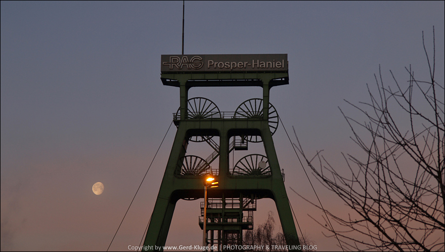 Morgens, 8:00 Uhr in Bottrop