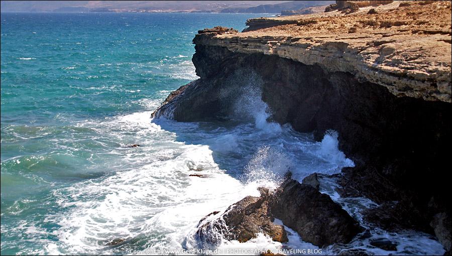 Fuerteventura :: Tag 18 | Schroffe Felsen