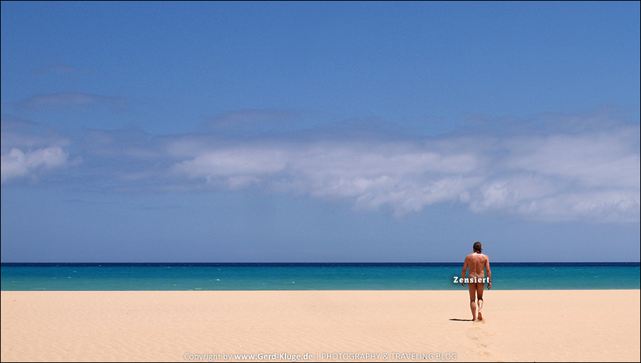 Fuerteventura :: Tag 21 | Abschied von den Strandburgen