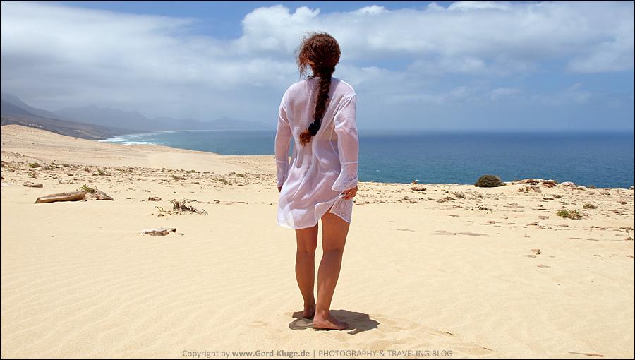 Wanderung durch die Wüste El Jable |