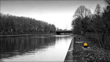 Herbstlicher Rhein-Herne-Kanal