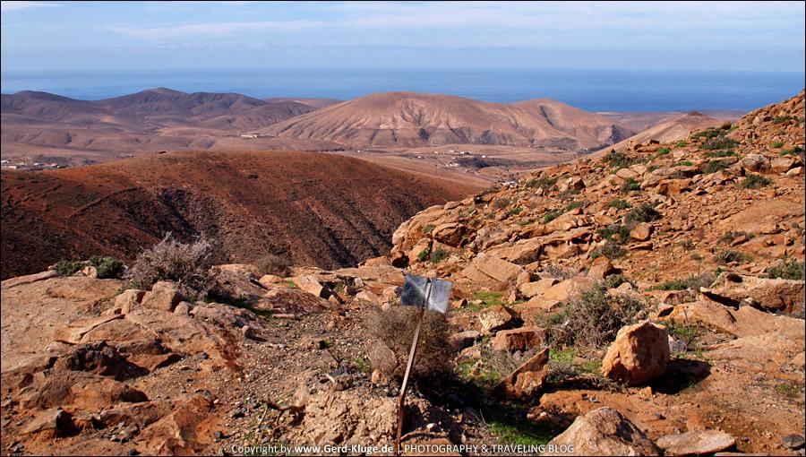 Fuerteventura :: Tag 12 | Aussichtspunkt an der FV-30 - Degollada de Los Granadillos