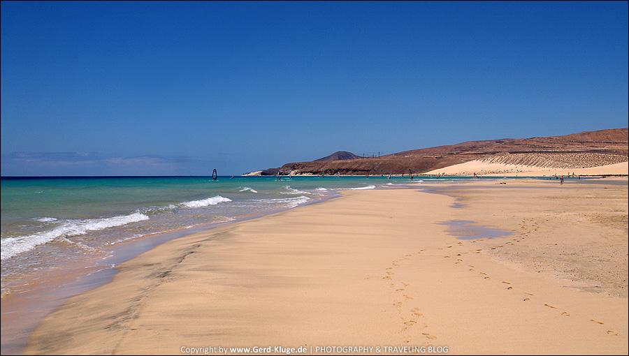 Fuerteventura :: Tag 7 | Langer Strandspaziergang - Risco del Paso