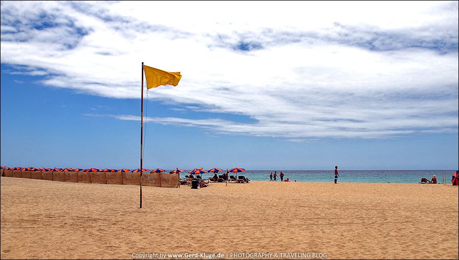 Fuerteventura :: Tag 12 | Schwimmen auf eigene Gefahr möglich - Playa de Matorral