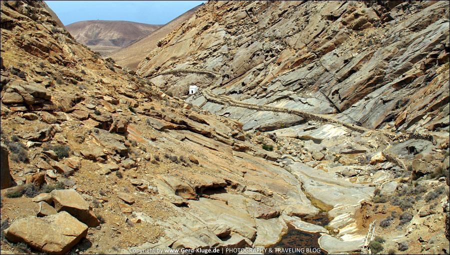 Fuerteventura :: Tag 20 | Wanderung zur kleinen Kapelle - Barranco de las Peñitas