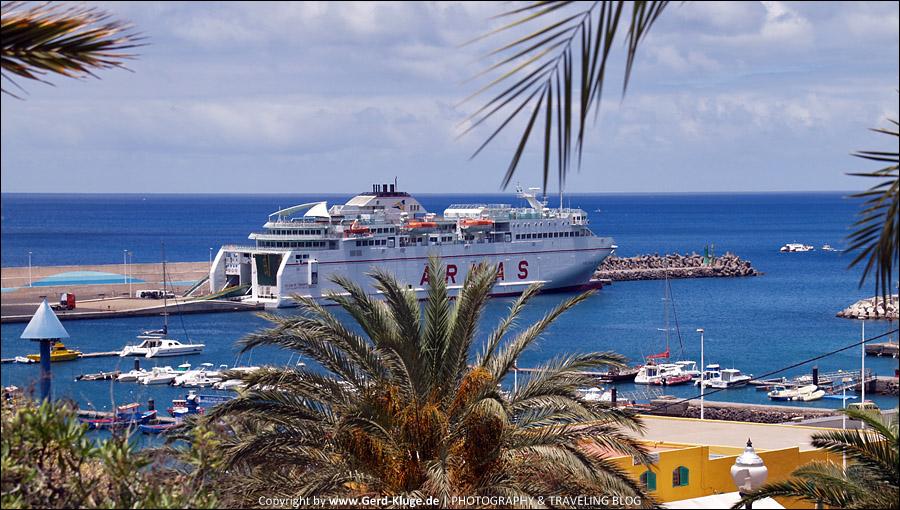 Fuerteventura :: Tag 25 | Ein Blick in den Hafen von Morro Jable