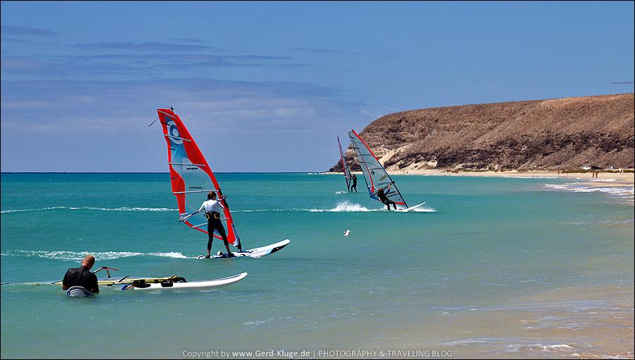 Fuerteventura :: Tag 26 | Übung macht den Meister - Playa de Sotavento