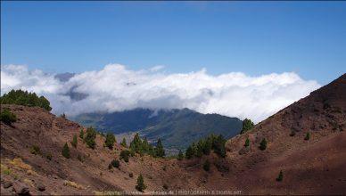 La Palma :: Tag 13 | Blick vom Kraterrand Pico Birigoyo in die Caldera de Taburiente