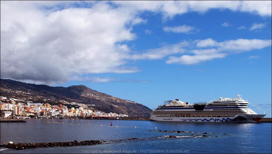 La Palma :: Tag 14 | AIDA im Hafen von Santa Cruz