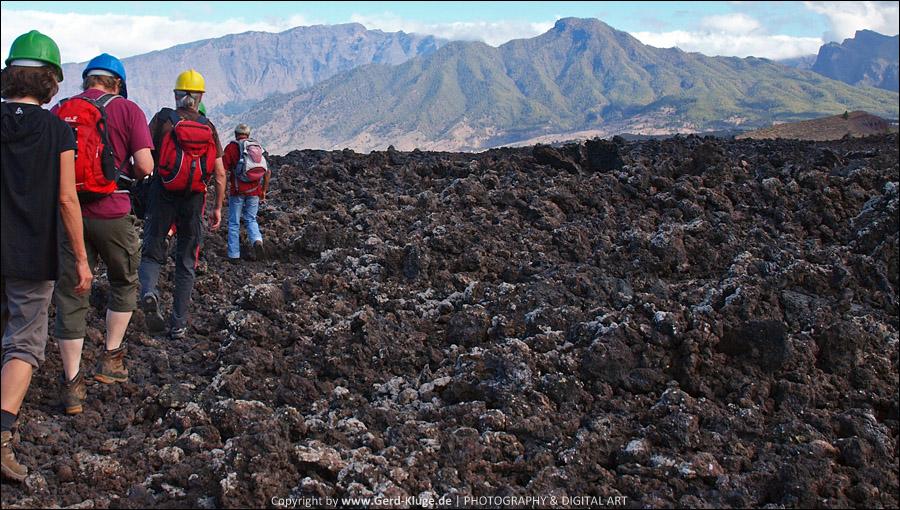 La Palma :: Tag 19   Wanderung durch das Lavafeld von Las Manchas