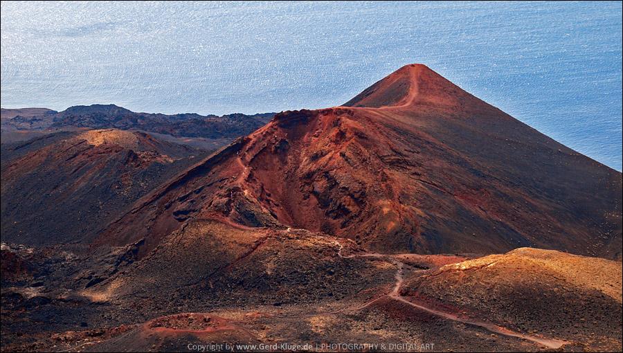 La Palma :: Tag 20 | Blick auf den Vulkan Teneguia