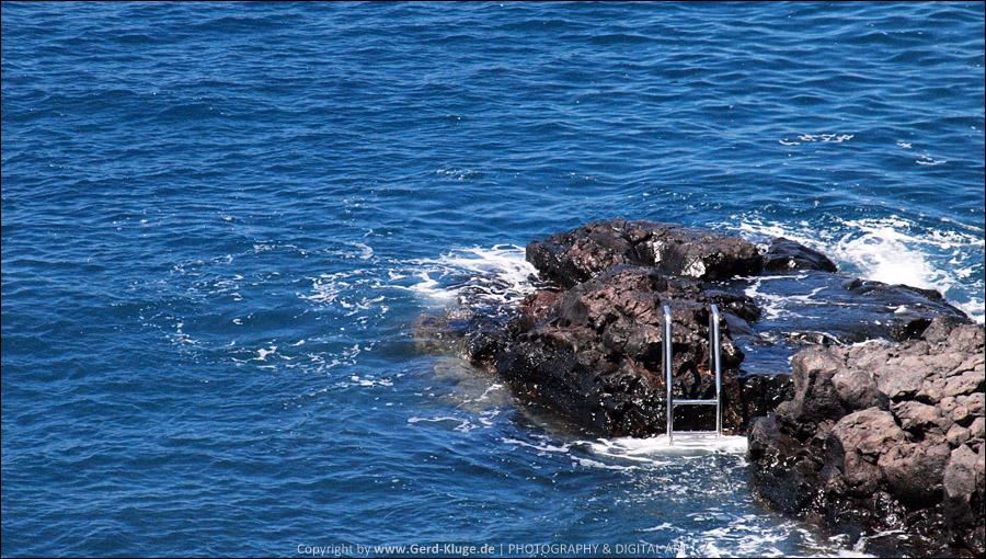La Palma :: Tag 21 | Puerto Naos, Leiter ins Meer