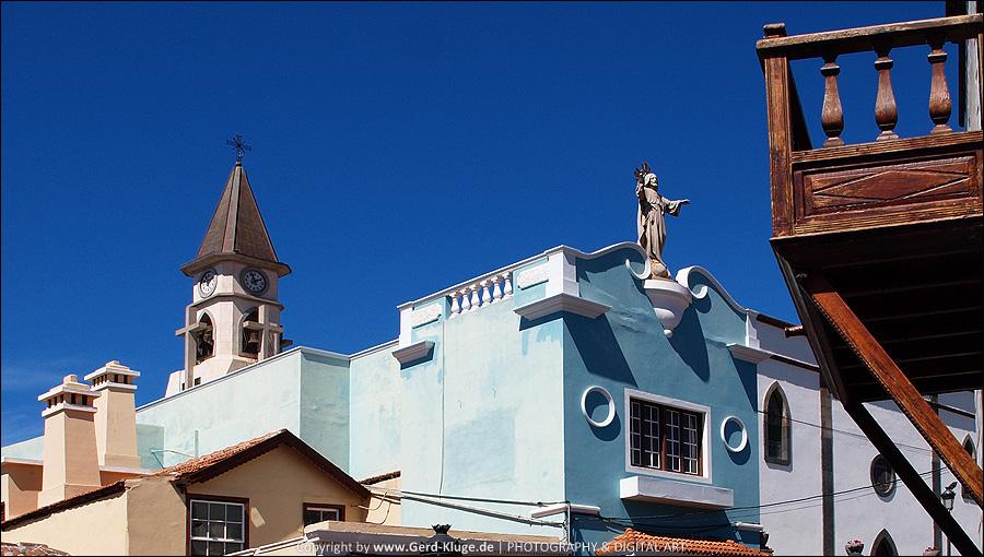 La Palma :: Tag 26   El Paso - Kirchturm Figur
