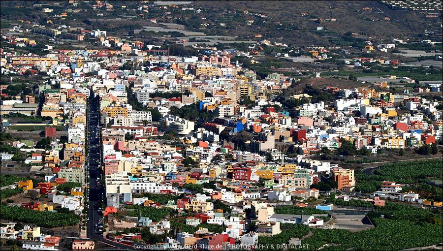 La Palma :: Tag 27 | Blick von El Time auf Los Llanos De Aridane