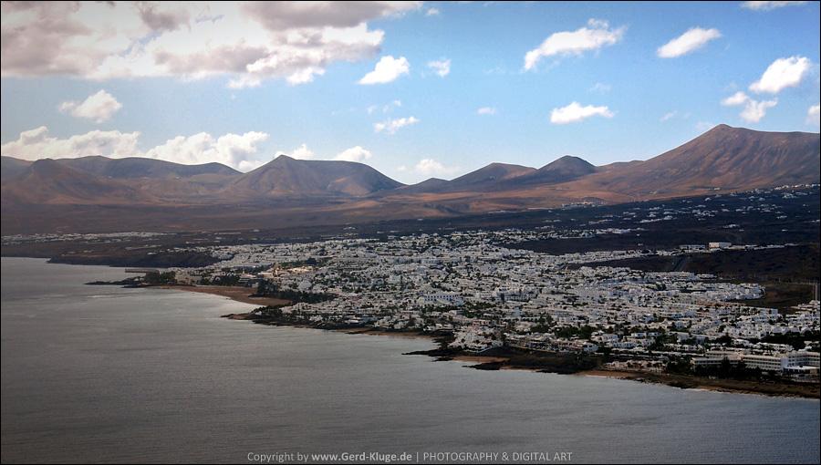 Lanzarote :: Tag 1    Anflug auf Lanzarote