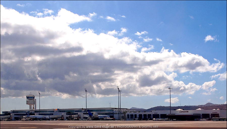 Lanzarote :: Tag 1    Flughafen Arrecife