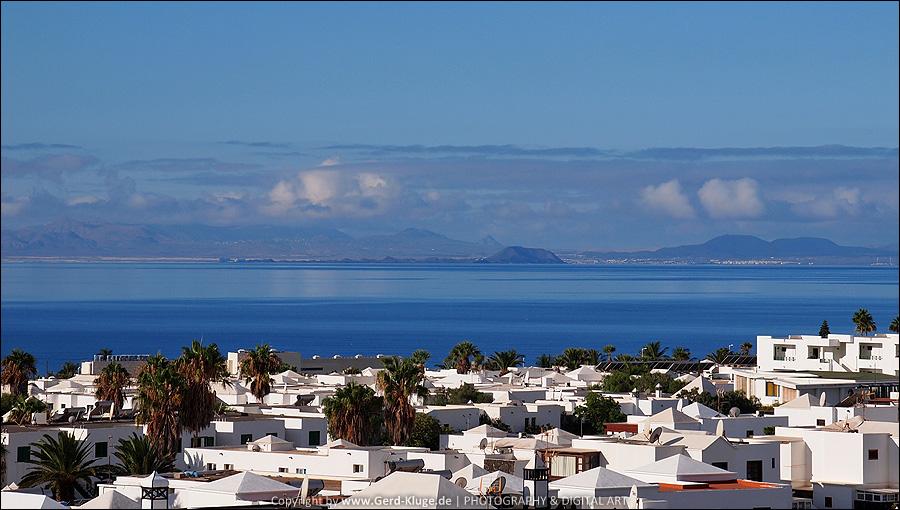 Lanzarote :: Tag 2    Puerto del Carmen - Blick auf Fuerte