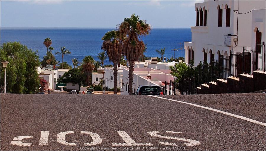 Lanzarote :: Tag 2 |  Puerto del Carmen - Stop Strasse