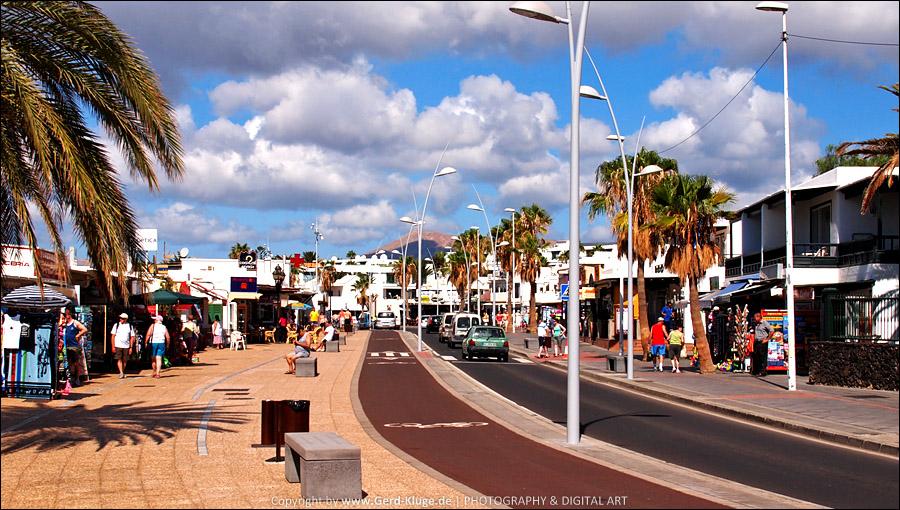 Lanzarote :: Tag 2    Puerto del Carmen - Prommenade