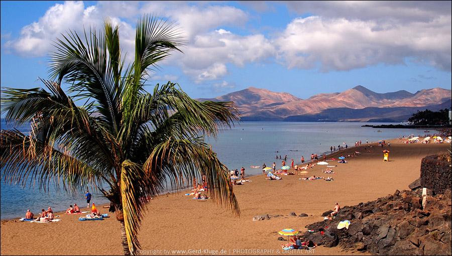 Lanzarote :: Tag 2 |  Puerto del Carmen - Strand