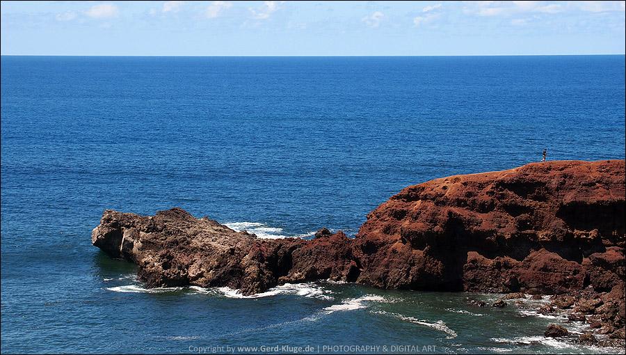 Lanzarote :: Tag 5 | Las Casas de El Golfo - Klippe