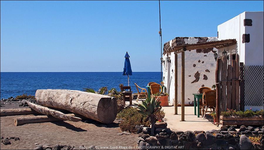 Lanzarote :: Tag 5 | Restaurant am Meer