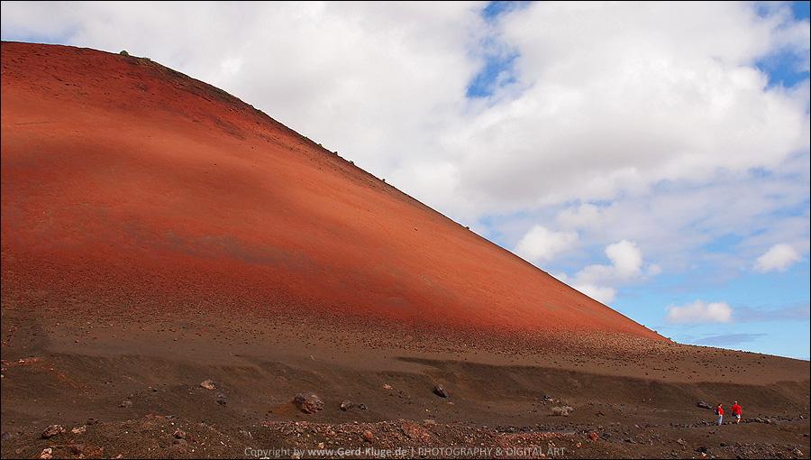 Lanzarote :: Tag 6   Wanderung um den Caldera Colorada