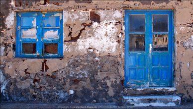 Lanzarote :: Tag 14 | Hausfassade in Òrzola