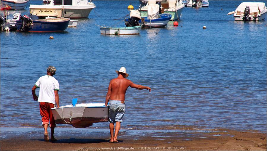 Lanzarote :: Tag 14 | Im Hafen von Òrzola