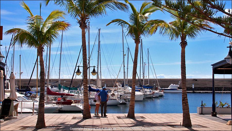 Lanzarote :: Tag 16 | Puerto Calero - Jachthafen