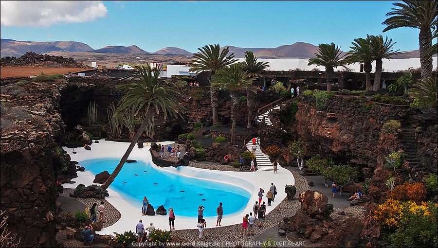 Lanzarote :: Tag 17 | Jameos del Agua - Außenanlage