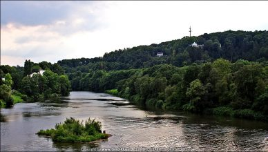 Der Angler und die Ruhr | Essen Werden
