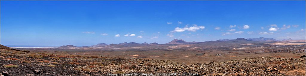 Panorama - Malpais de Bayuyo
