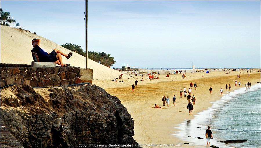 Ruhe und Entspannung | Playa de la Cebada - Morro Jable