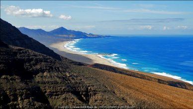 Blick auf die Playa de Barlovento