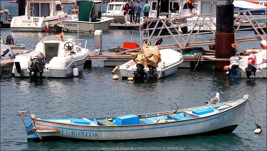 El Bonito | Im Hafen von Morro Jable
