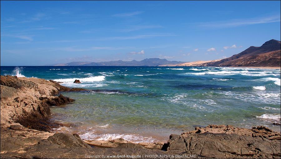 Ausblick von der Felsklippe El Islote