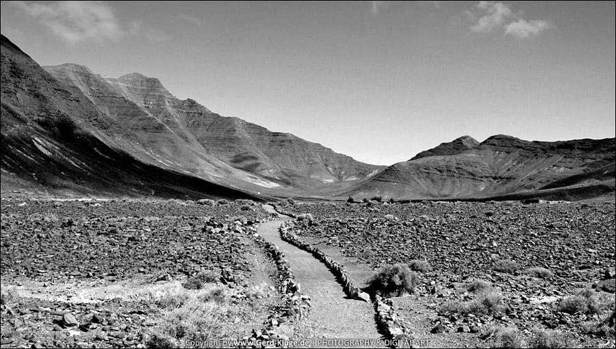 Entfärbtes Fuertenventura | Gran Valle - Parque de Jandia