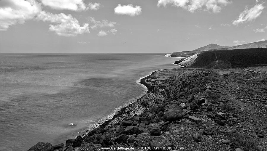 Entfärbtes Fuertenventura | Klippenblick - Playa El Salmo