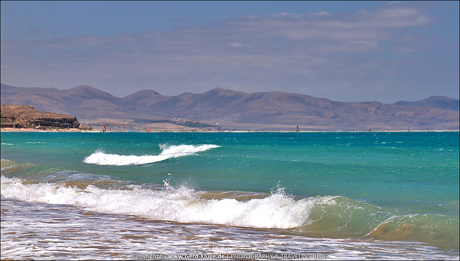 Fuerteventura :: Tag 2 | Sonne, Strand und jede Menge Wind