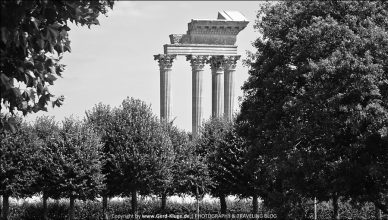 LVR-Archäologischer Park, Xanten | Der Hafentempel